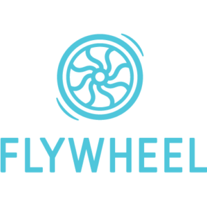 blue Flywheel Hosting logo