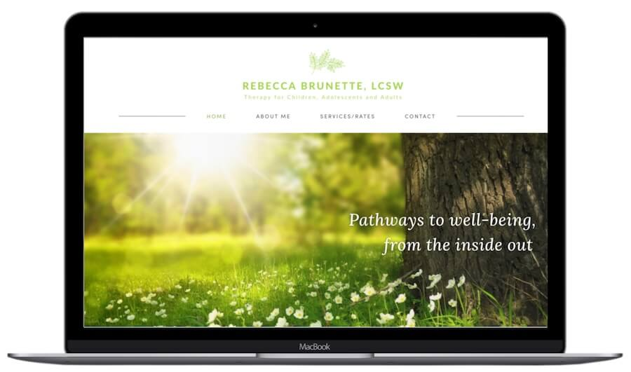 Rebecca Brunette Website