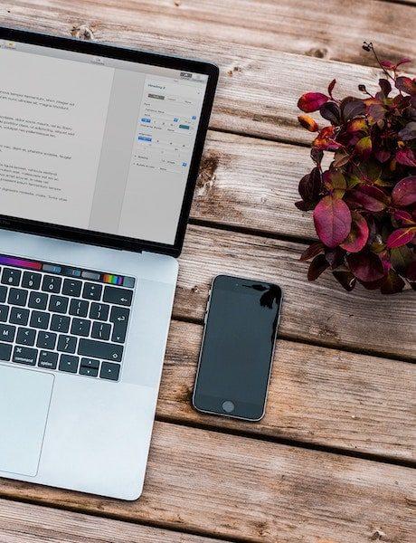 Macbook and work set-up